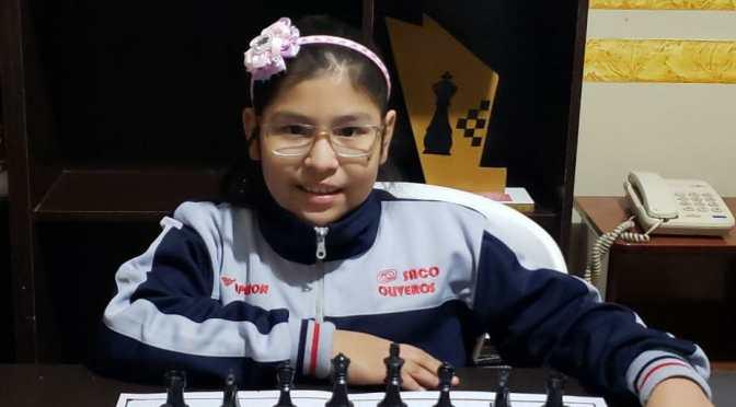 Nicole Mollo clasifica a la fase final del Mundial de Ajedrez Online