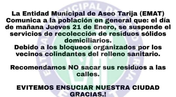 Mal olor en la administración pública: Vecinos bloquean botadero municipal de basura