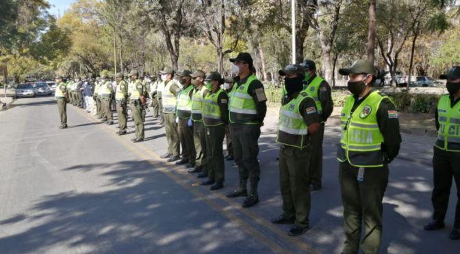 Policía reporta dos primeros por contagio de COVID – 19 en 2021 en Tarija