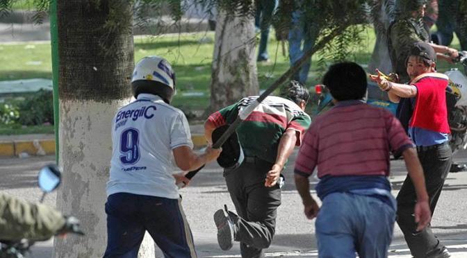 A 14 años del racismo en Cochabamba que llevó a muertes y la renuncia de Manfred Reyes Villa