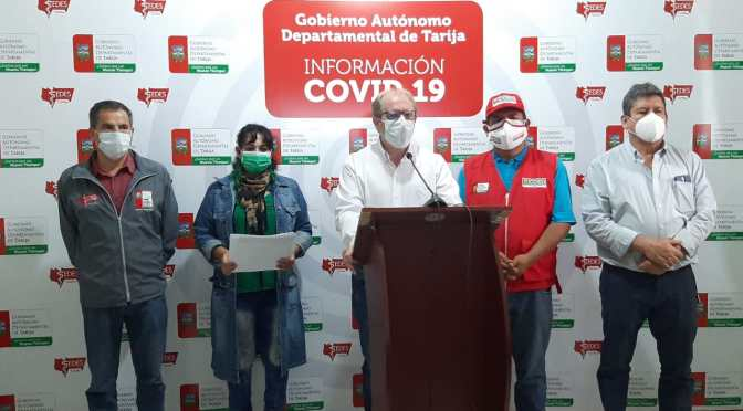 Autoridades de salud de Tarija coordinan acciones para la contención del Covid-19