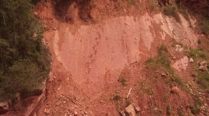 Señalan que urge iniciar trabajos para evitar deterioro de huellas fósiles en O´Connor