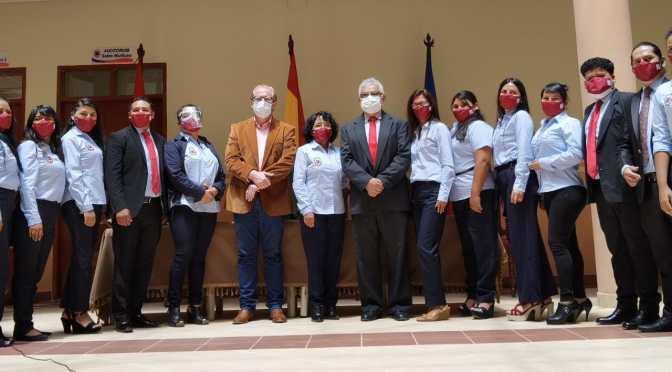 "Gobernador presentó el programa ""El mundo a Tarija"""