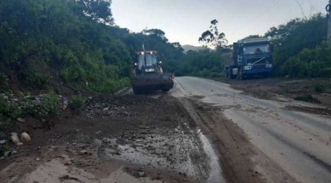 Transporte lamenta el estado de la carretera Bermejo Tarija