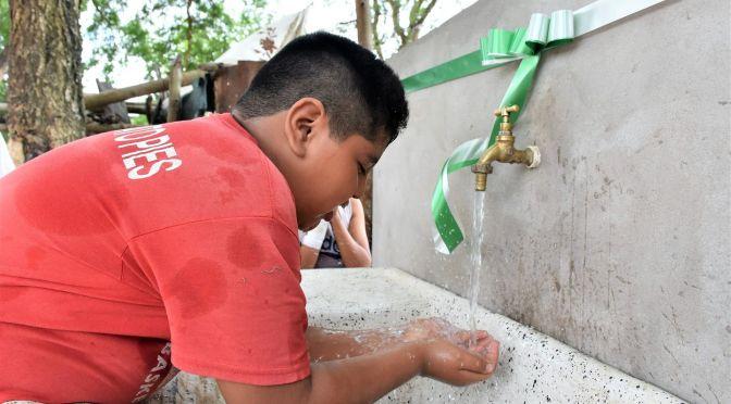El agua potable llega a unas 133 familias guaraníes de Aguayrenda