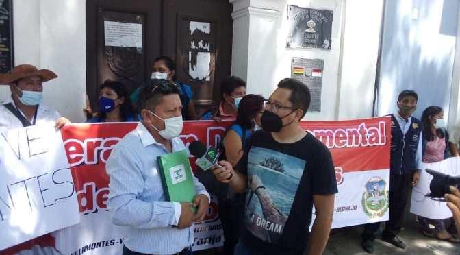 Fedjuve pide audiencia con el presidente Arce para gestionar proyectos para los barrios