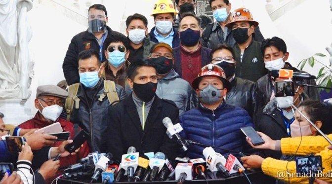 La COB pide al Legislativo acelerar juicio de responsabilidades contra exautoridades