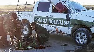 Fallecen un policía y un aprehendido en un accidente carretera Oruro – La Paz