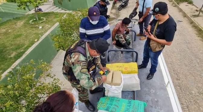 Incineran más de 102 kilos de marihuana y detienen a narco chofer