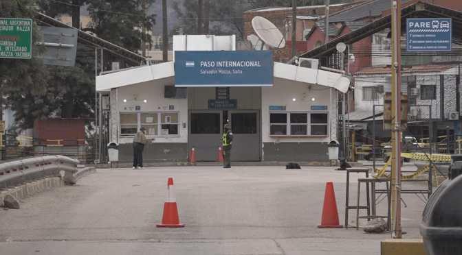 Oliva pide a Arce gestionar la reapertura de la frontera con Argentina