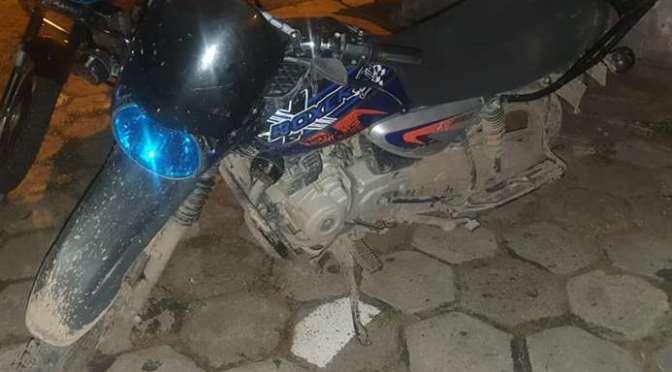 Atracador es detenido cuando paseaba a bordo de una moto robada