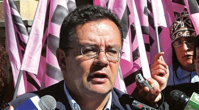 El MNR apoyará a Montes para la segunda vuelta en Tarija