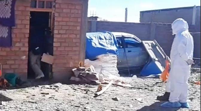 Sujeto mató a golpes a su esposa, frente a sus cuatro hijos