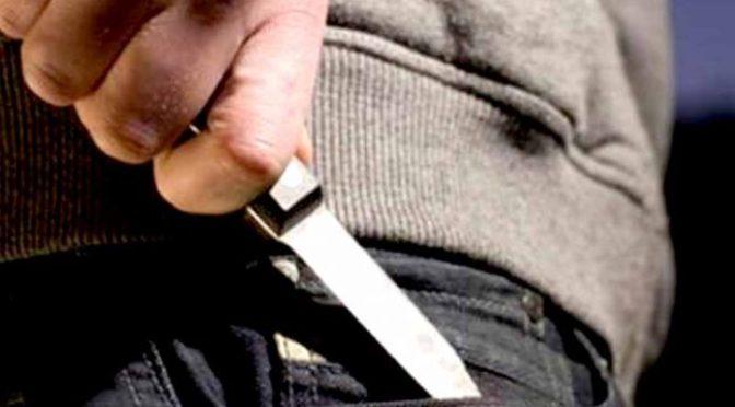 Un sujeto asalta con un cuchillo a una empresa de tv por cable, robo bs 8000