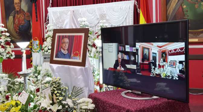 Gobernación de Tarija rindió homenaje póstumo a Rubén Ardaya
