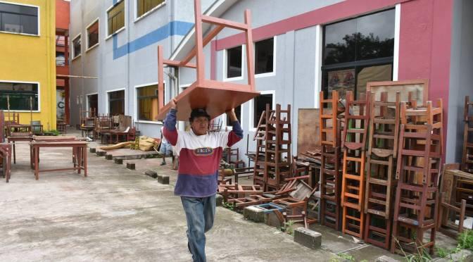 Maestros rurales se declaran en emergencia por falta de condiciones para las clases