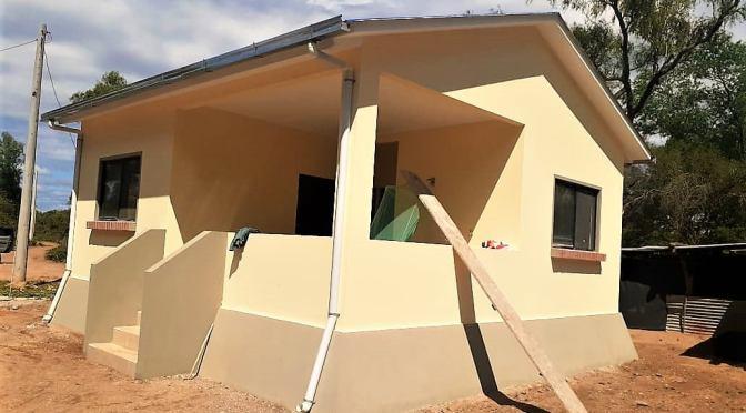 Viviendas construidas en el Distrito 5 ya están listas para su entrega