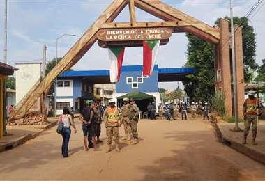 Gobierno no cerrará la frontera con Brasil, se reforzará el control en Pando
