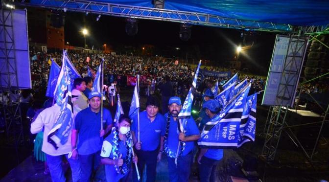 Ruiz arrasa en el Chaco y recibe multitudinario respaldo en su cierre de campaña