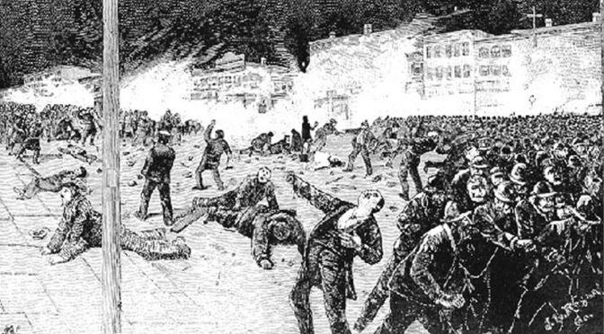 El día internacional de los trabajadores y sus orígenes anarquistas