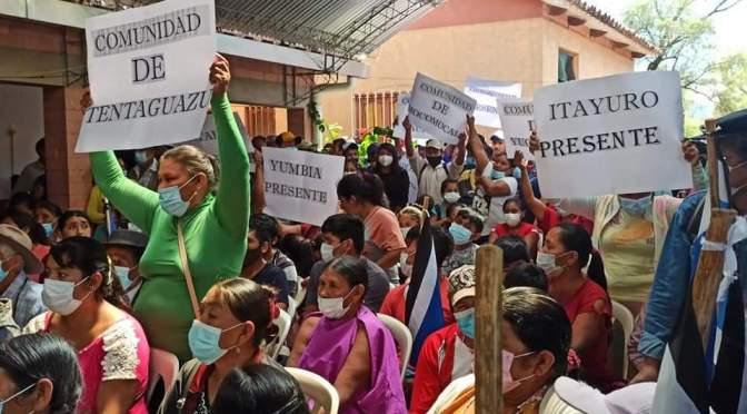 Ruiz cierra campaña en Entre Ríos y suma el apoyo de comunidades guaranís