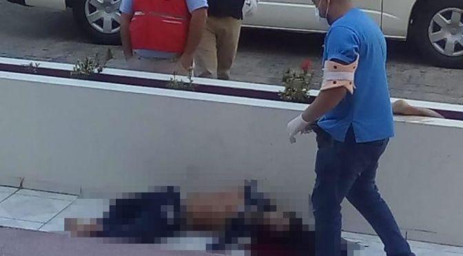 Posible feminicidio:Una pareja cae del piso 12 de un edificio de Santa Cruz