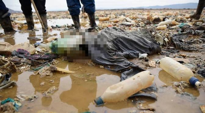 Encuentran un cadáver en el lago Uru Uru, en la campaña de limpieza