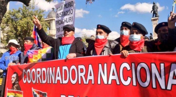 Coordinadora de la Democracia afín al MAS insiste en crear milicias armadas en Bolivia