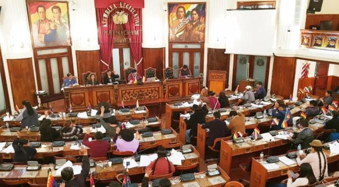El MAS procesará a los parlamentarios opositores que viajaron a EEUU