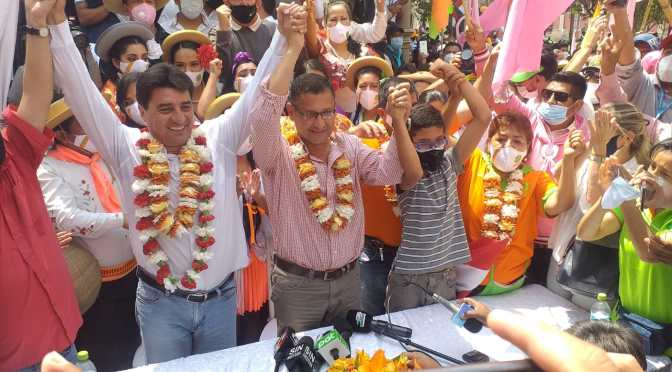 Unidos cerrará campaña en la plaza Luis de Fuentes
