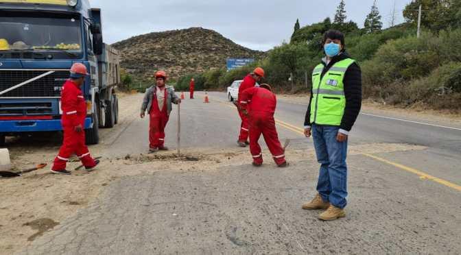 ABC inicia trabajos de reparación y transporte suspende medidas de presión