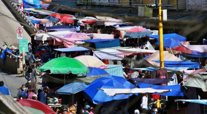Vendedoras de mercados tendrán carnet de vacunación