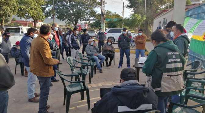 Yacuiba: YPFB logra acuerdo con dirigentes de AMPECY y evitan movilizaciones