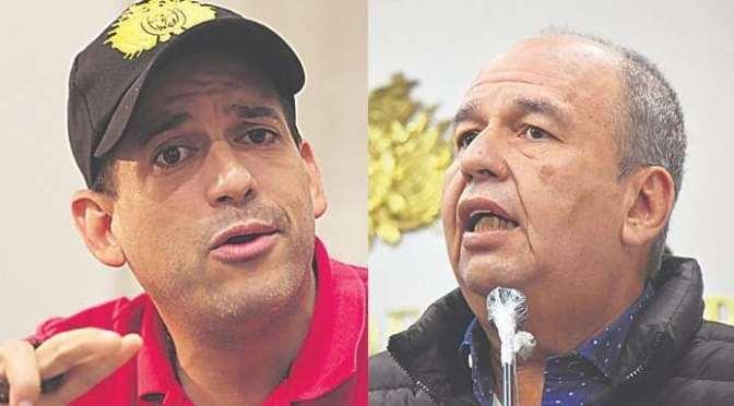 Camacho fustiga a Murillo y pide su extradición para procesarlo en el país