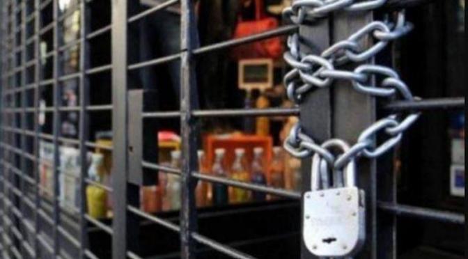 Fundempresa: más de 1.100 empresas cerraron de enero a abril de este año