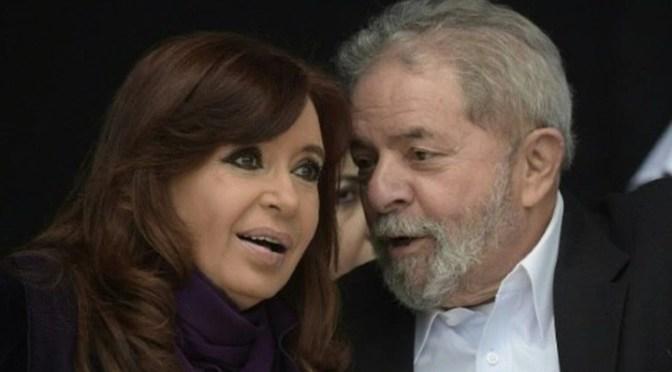 Lula y Cristina buscan «rearticular» la izquierda en América