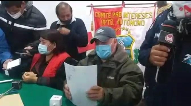 Fedjuve niega legalidad de David Galdo y va a elecciones