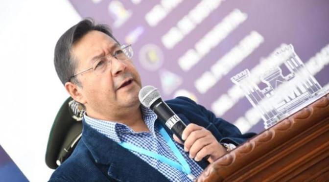 Arce felicita a Pedro Castillo y afirma que 'la Patria Grande suma fuerzas'
