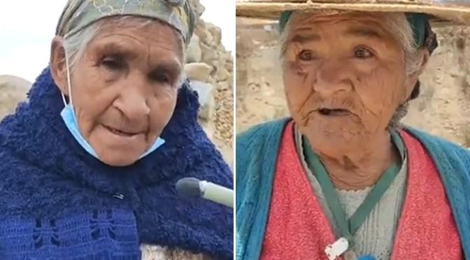 Fabiana y Julia: la tercera edad que aún trabaja en desmontes de Siglo XX