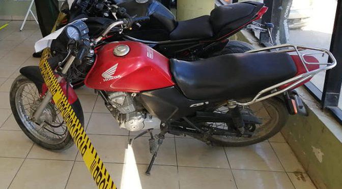 La Policía atrapa a ladron de  motos y recuperan dos  motorizados