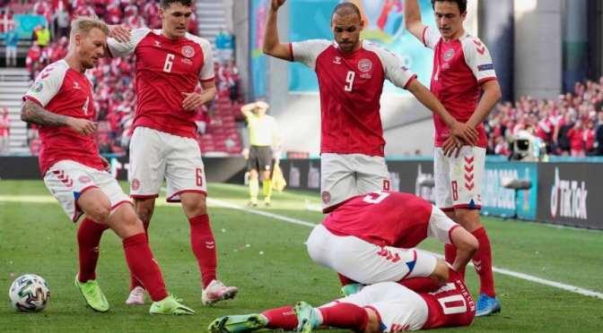 Jugador danés sufre un paro cardíaco en pleno partido