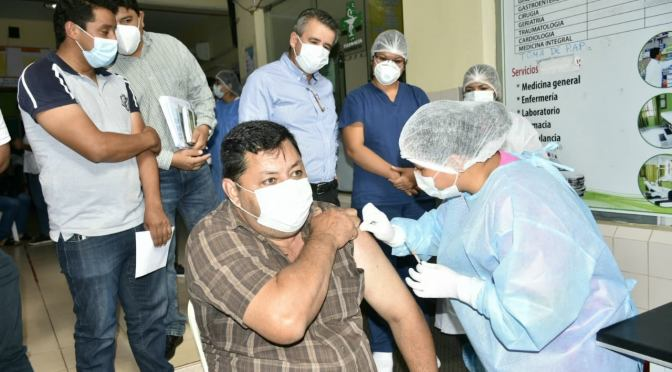 La vacunación se reanuda tras la llegada de 2.000 dosis contra el COVID-19