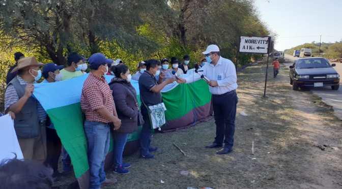 Bloquean ruta al Chaco: Denuncias de corrupción y división involucran a autoridades