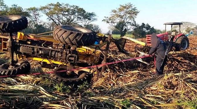 Un obrero muerte en su trabajo, se atriccionó en una cosechadora en Yacuiba