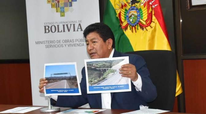 Al menos Bs 1.854 millones fueron desembolsados para la reactivación de 303 proyectos viales en Bolivia