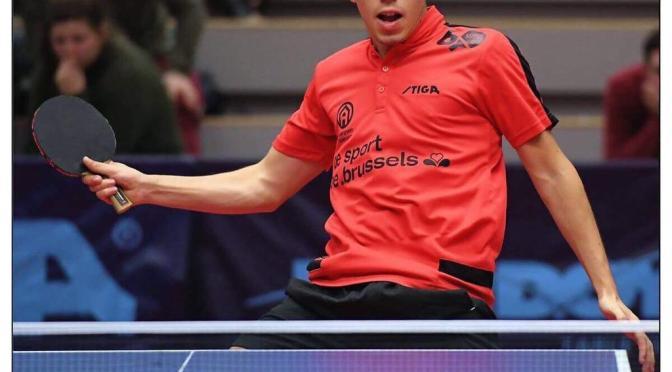 Un día con un sueño olímpico argentino: Horacio Cifuentes, el jugador de tenis mesa que se mudó a Europa para ser profesional y se entrenó con un robot
