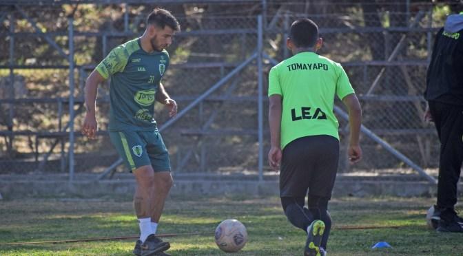 Real Tomayapo trabaja para sumar una victoria ante Nacional Potosí