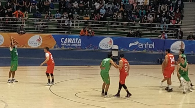 Selección de básquet se despide con un partido de exhibición