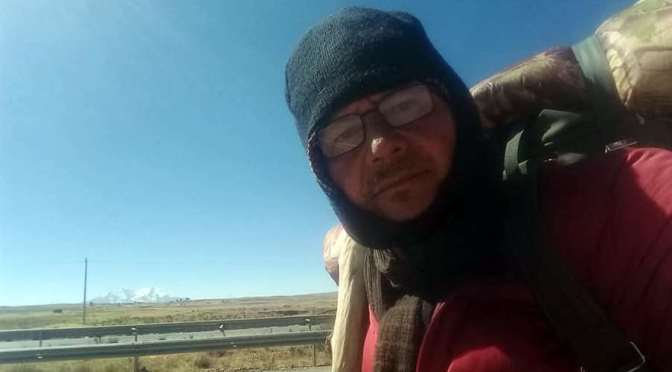 Gonzalo Melgar caminó 900 kilómetros para pedir la devolución de aportes de las AFP