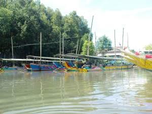 boats for Phang Nga Bay
